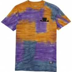 Grizzly Sunscape Pocket T-Shirt - Purple
