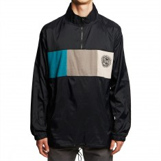 Grizzly Shoebreak Half Zip Jacket - Black