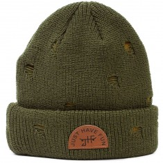Just Have Fun Hobo Beanie - Olive
