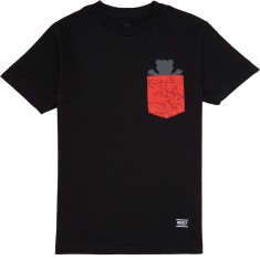 Grizzly Cement Pocket T-Shirt - Black