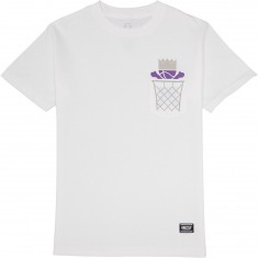 Grizzly Ballin Biebel Pocket T-Shirt - White
