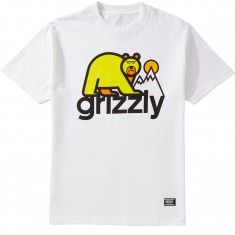 Grizzly Mount Fuji T-Shirt - White