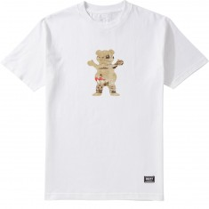 Grizzly Hunting Lodge OG Bear T-Shirt - White