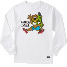 Grizzly Mile High Longsleeve T-Shirt - White