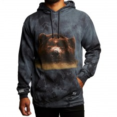 Grizzly Submerged Hoodie - Black Tie Dye