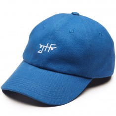 Just Have Fun Classic Skate Dad Hat - Royal/White
