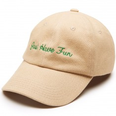 Just Have Fun Family Dad Hat - Khaki/Green