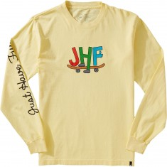 Just Have Fun Toons Long Sleeve T-Shirt - Yellow