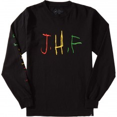 Just Have Fun Childish Long Sleeve T-Shirt - Black