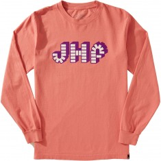 Just Have Fun Brick By Brick Long Sleeve T-Shirt - Pink