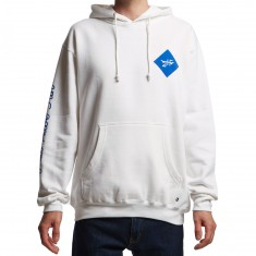 Just Have Fun Legacy Pullover Hoodie - White/Royal