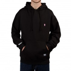 Grizzly OG Bear Embroidered Hoodie - Black/Pink