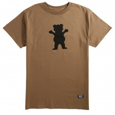 Grizzly OG Bear T-Shirt - Khaki/Black