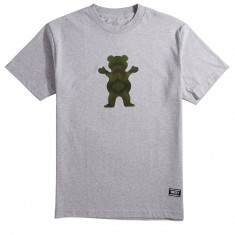 Grizzly Forester OG Bear T-Shirt - Heather Grey