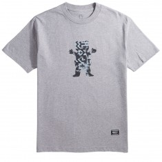 Grizzly Sedona OG Bear T-Shirt - Heather Grey