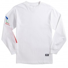 Grizzly Corpo Long Sleeve T-Shirt - White
