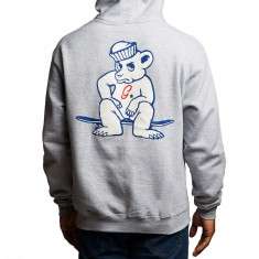 Grizzly X Champion Leader Of The Pack Hoodie - Heather Grey