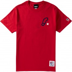 Grizzly X Champion Leader Of The Pack T-Shirt - Red