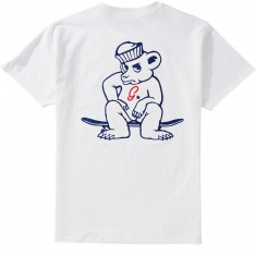 Grizzly X Champion Leader Of The Pack T-Shirt - White