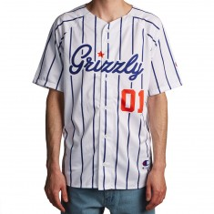 Grizzly X Champion Out Of Left Field Jersey - White