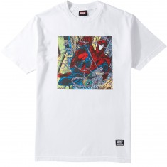 Grizzly X Spiderman Aerial T-Shirt - White