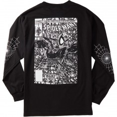 Grizzly X Spiderman Longsleeve T-Shirt - Vintage Black
