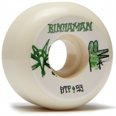 Bones STF Bingaman Burney V5 Skateboard Wheels - 53mm