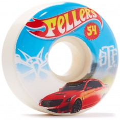 Bones STF Fellers Hot Wheel V3 Skateboard Wheels - 54mm
