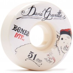 Bones STF Gravette Baby Lamb V2 Skateboard Wheels - 51mm