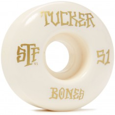 Bones STF Tucker Title V1 Skateboard Wheels - 51mm