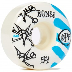 Bones SPF War Paint 84b P4 Skateboard Wheels - 54mm