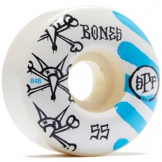 Bones SPF War Paint 84b P4 Skateboard Wheels - 55mm