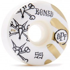 Bones SPF War Paint 81b P4 Skateboard Wheels - 55mm