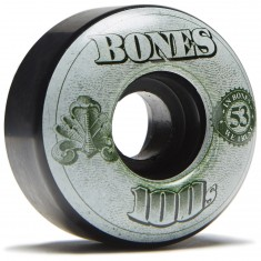 Bones 100's #11 Skateboard Wheels - Black - 53mm