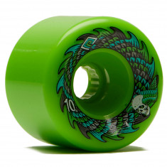 Powell Peralta Scales Offset UHR Core Longboard Wheels - Green - 70mm