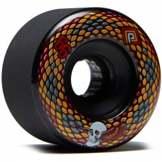 Powell Peralta Snakes Longboard Wheels - Black - 69mm 75a