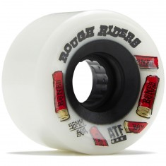 Bones Rough Riders Shotgun Skateboard Wheels - White - 56mm
