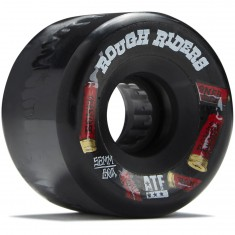Bones Rough Riders Shotgun Skateboard Wheels - Black - 56mm