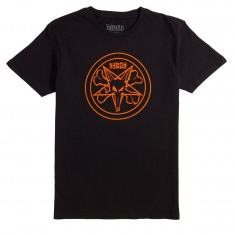 Bones Petagram T-Shirt - Black