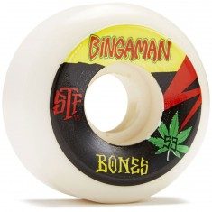 Bones STF Bingaman Attitude Skateboard Wheels - 53mm