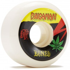 Bones STF Bingaman Attitude Skateboard Wheels - 55mm