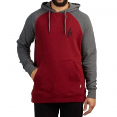 Altamont A Hoodie - Grey/Red