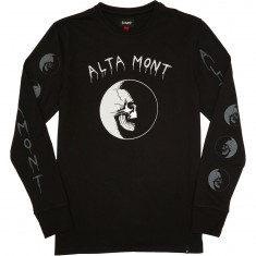 Altamont Dark Moon Long Sleeve T-Shirt - Black