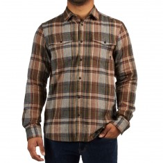 Altamont Garth Long Sleeve Shirt - Tobacco
