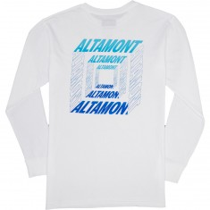 Altamont Portal Long Sleeve T-Shirt - White
