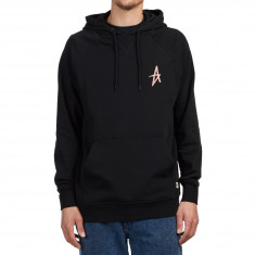 Altamont A Pullover Hoodie - Black/Peach