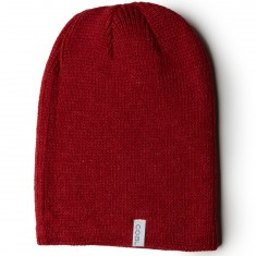 Coal The Frena Solid Beanie - Heather Red