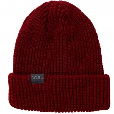 Coal The Stanley Beanie - Dark Heather Red