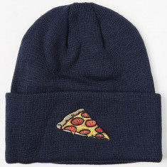 Coal The Crave Beanie - Navy (Pizza)