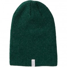 Coal The Frena Solid Beanie - Heather Forest Green